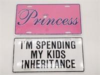 Princess and I'm Spending My Kids Inheritance