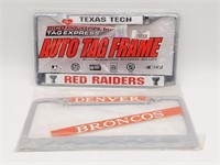 Oakland Raiders, Texas Tech and Denver Broncos