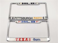 MLB Pittsburgh Pirates and Texas Rangers License