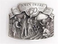 John Deere 150th Anniversary Belt Buckle