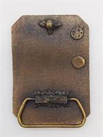 """Standard Oil Belt Buckle 3.25"""""""