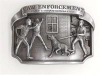 Law Enforcement 1987 Commemorative Belt Buckle