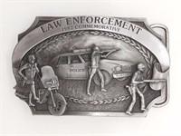 Law Enforcement 1983 Commemorative Belt Buckle
