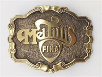 "Mel Tillis Fina Belt Buckle 3.5"" - The Great"
