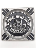 "Hesston National Finals Rodeo 1979 Ashtray 7"" x"