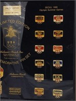 1988 Olympics Anheuser-Busch Commemorative Pin