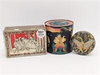 "Vintage German Tin Haeberlein Metzger 4.75"","