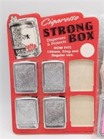 Cigarette Strong Box Dispenser and Holders,