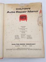Chilton Auto Repair Book for American Cars