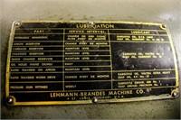 """Lehmann Hydratrol Lathe With 24"""" Chuck With"""