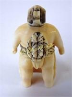 Netsuke - Sumo Wrestler