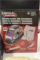 Welding Kit W/ Black Helmut