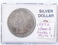 Nov 10th Online Only Coin Auction