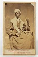 Sojourner Truth CDV, signed verso