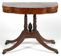 Duncan Phyfe (attributed) Classical card table