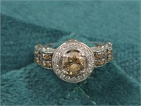 14Kt Chocolate Diamond Ring
