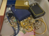 Misc. Stackable Drawers of Costume Jewelry