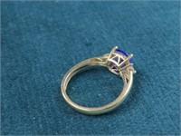 Tanzanite 14K Ring