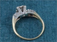 14K Vintage Diamond Ring
