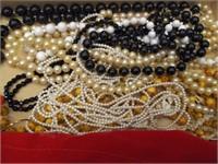 Misc. Tub of Costume Jewelry