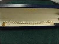 14k Mikimoto Pearl Bracelet