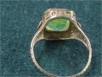 14K Filigree Ring