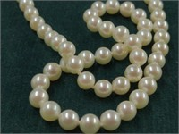 Strand of Mikimoto Pearls