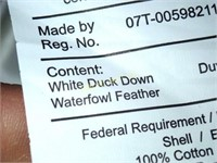 Seventh Heaven White Duck Down Duvet