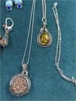 22 Pcs. Sterling Jewelry