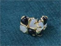2 Pr. 10K Earrings