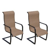 6 Patio Chairs - as is