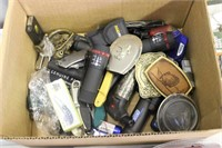 Box Of Knives & Lighters