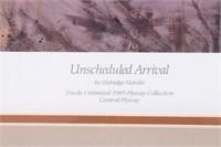 Unscheduled Arrival By Eldridge Hardie Print