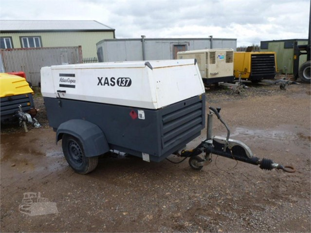 2014 ATLAS COPCO XAS137 at www.used-compressors.co.uk