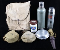Collection of Boyscout Travel Messkits & Backpack