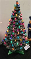 "VINTAGE CERAMIC CHRISTMAS TREE 20""T X 12""W"