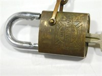 Champlin Oils Lock w/key