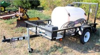 4' x 7' Utility Trailer (Sprayer Tank Sells Seperately)