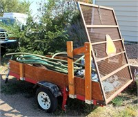 Utility Trailer (Contents Sell Seperately)