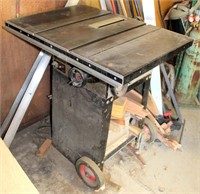 "Rockwell 9"" table saw"