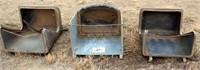 Horse hay wall feeders