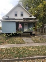 Real Estate Auction 612 E. Poplar Taylorville, IL  Online On