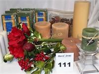 Candles & Florals