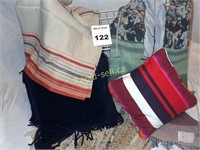 Throws, Pillows & Scatter Rugs