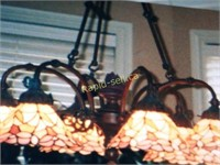 Stained Glass Chandelier