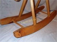 Handmade Wooden Rocker Horse