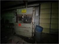 Nichols Bailing Press 3 phase, Cardboard or Alum
