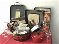 Pampered Chef & More Kitchen Basket