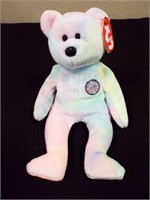 Birthday, Fuzz, Clubby, 1999 Signature Bear
