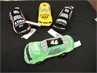 Nascar Beanie Racers w/Original Tags (4)